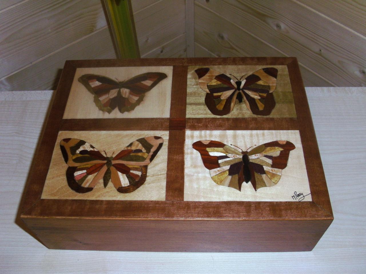 Coffrert Quatre Papillons