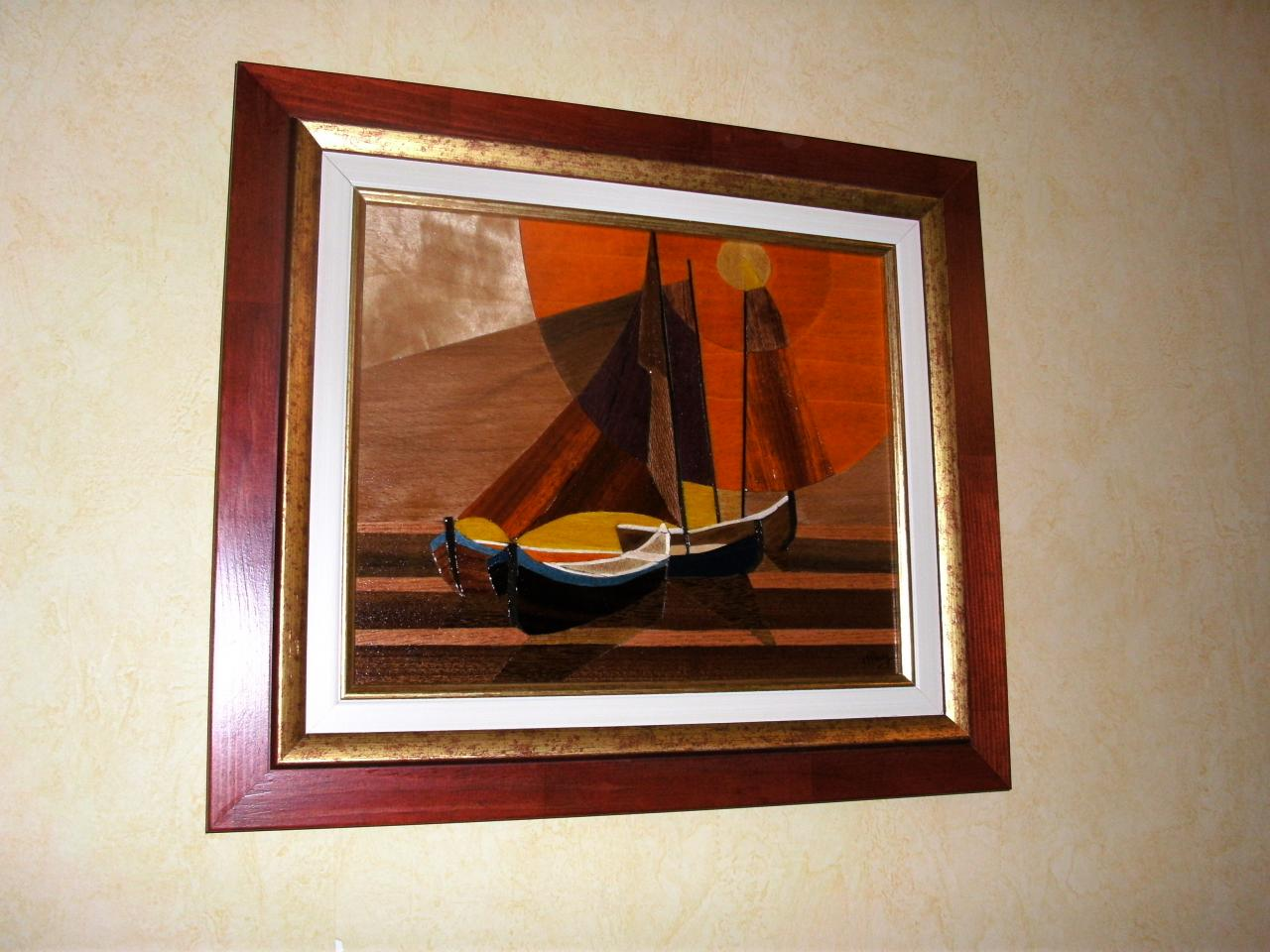 Ships D'après l'oeuvre de Toffoli
