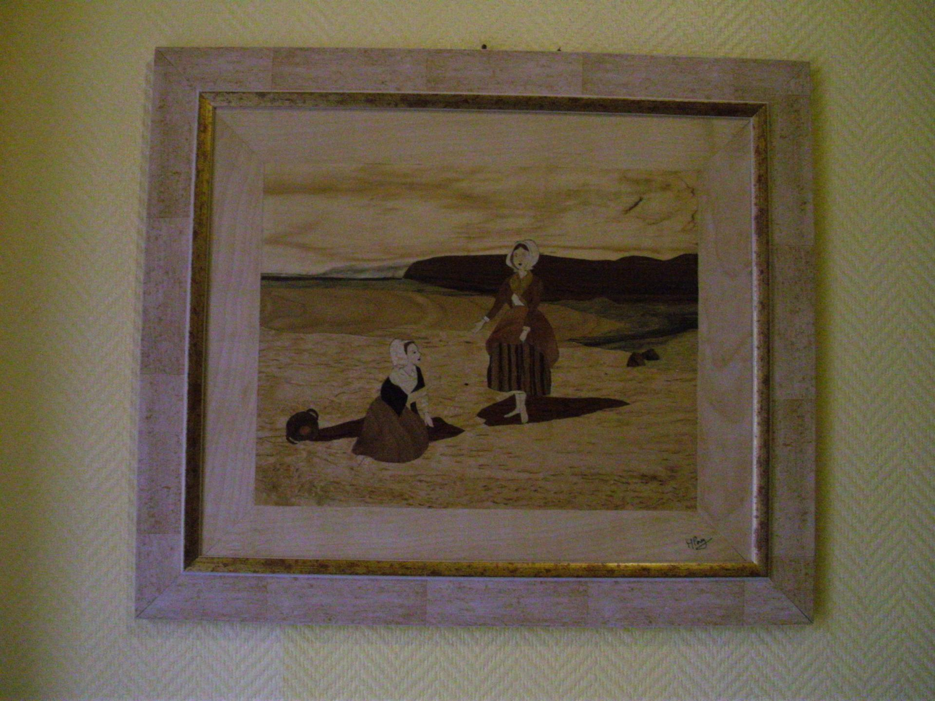 Deux femmes sur une plage